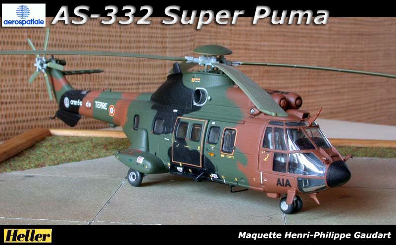 Fanakit > Menu Galerie >AS332 Super Puma Heller 1/72ème
